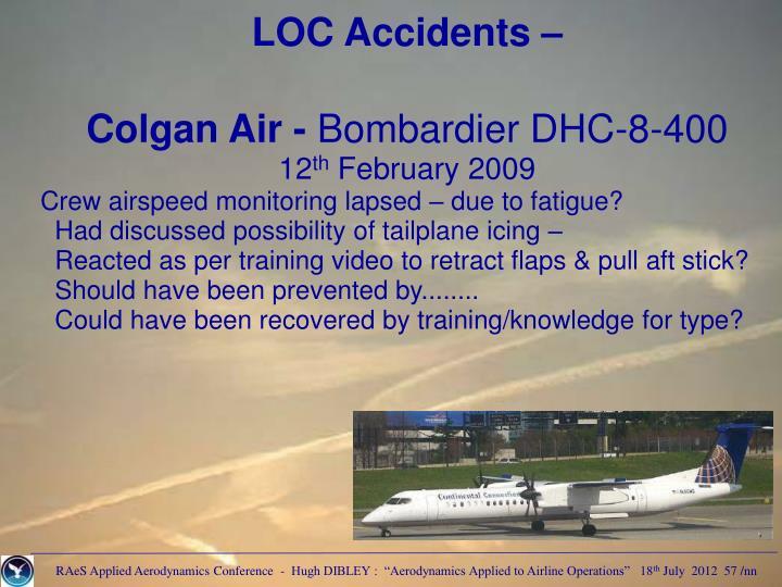 LOC Accidents –