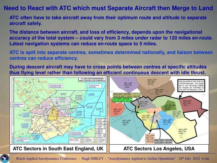 ATC Sectors Los Angeles, USA