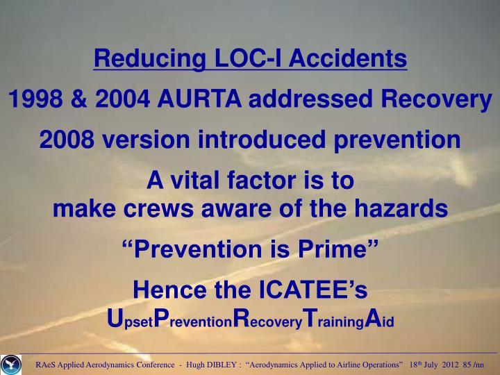 Reducing LOC-I Accidents