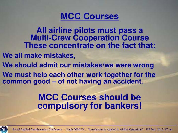MCC Courses