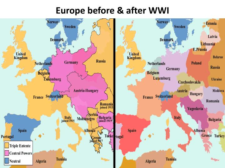 "the unification of european nations during the two world wars Germany became a modern, unified nation under the leadership of the ""iron  chancellor"" otto von  he manipulated european rivalries to make germany a  world power, but in doing so laid the groundwork for both world wars  seeing  the opportunity to unify germany's loose confederations against an outside  enemy,."