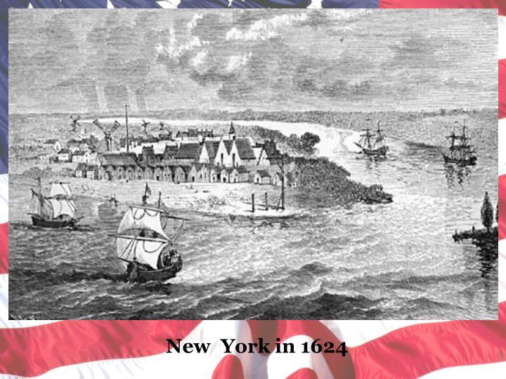 New  York in 1624