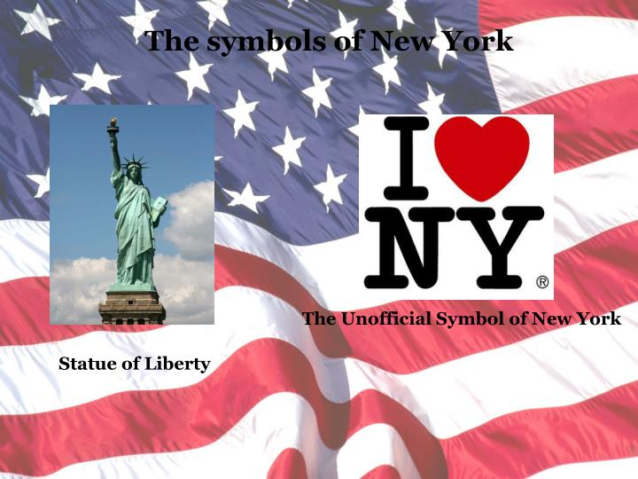 The symbols of New York