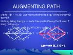 augmenting path
