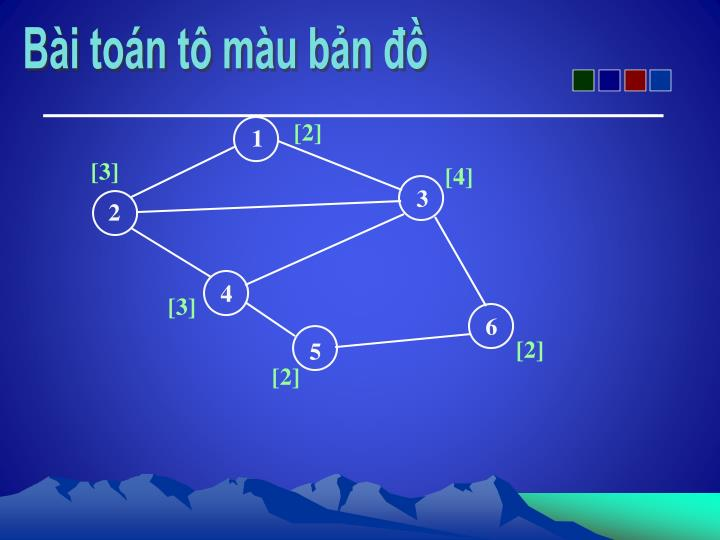 Bài toán tô màu bản đồ