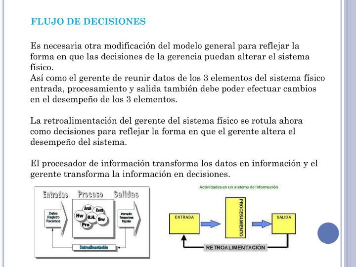 FLUJO DE DECISIONES