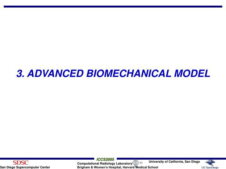 3. ADVANCED BIOMECHANICAL MODEL