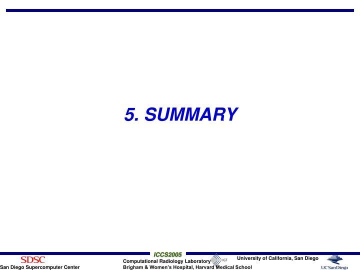 5. SUMMARY
