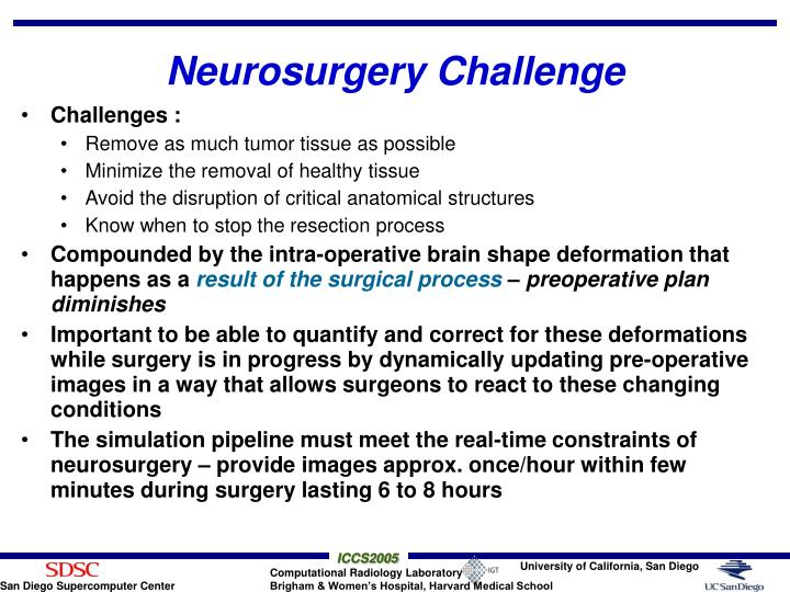 Neurosurgery Challenge