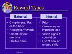 reward types