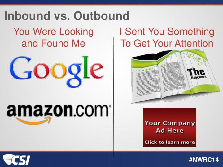 Inbound vs. Outbound