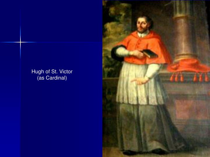 Hugh of St. Victor