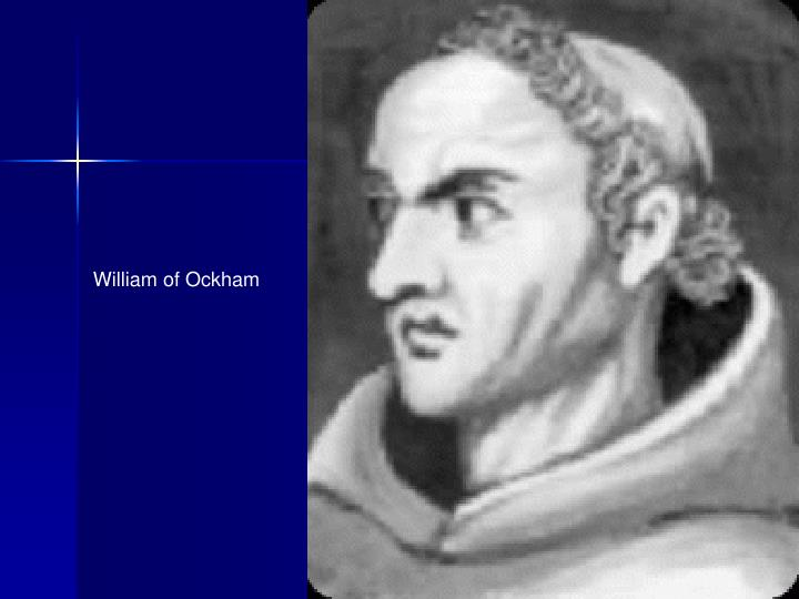 William of Ockham