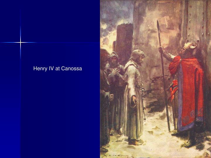 Henry IV at Canossa