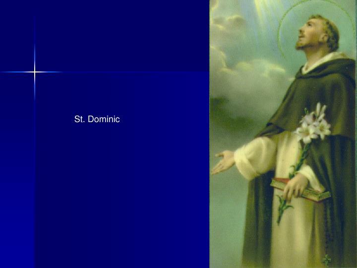 St. Dominic
