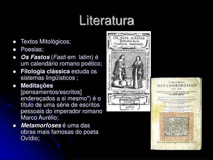 Textos Mitológicos;