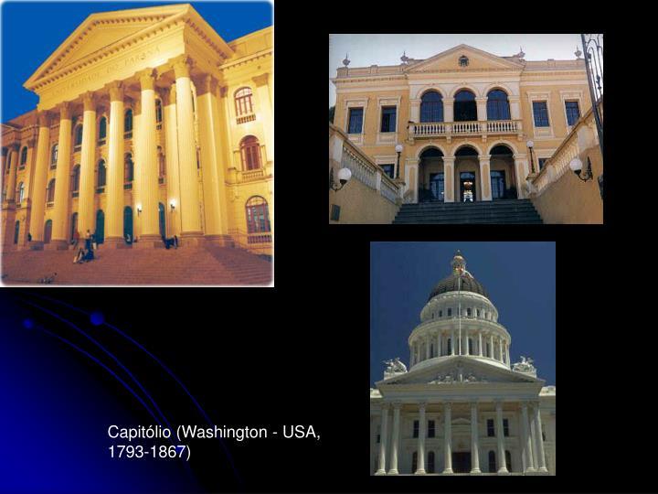 Capitólio (Washington - USA, 1793-1867)