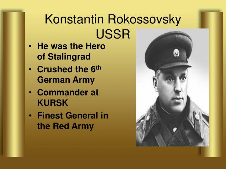Konstantin Rokossovsky