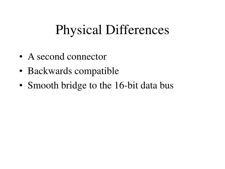 Physical Differences