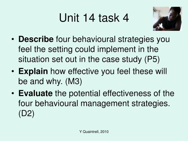 Unit 14 task 4