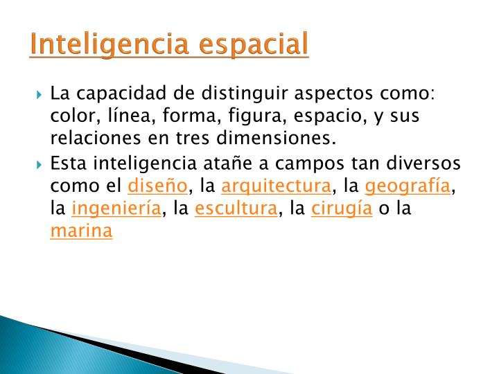 Inteligencia espacial