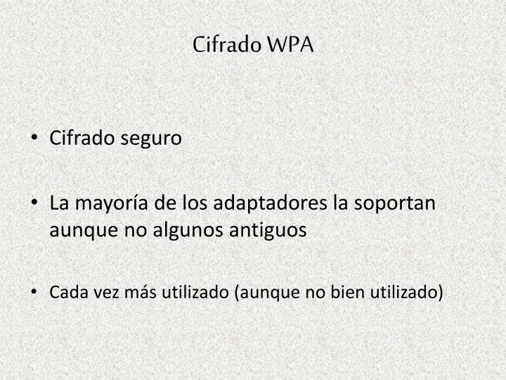 Cifrado WPA