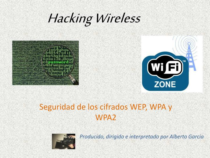 Hacking wireless