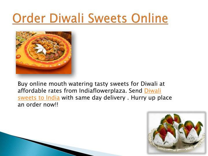 Order Diwali Sweets Online