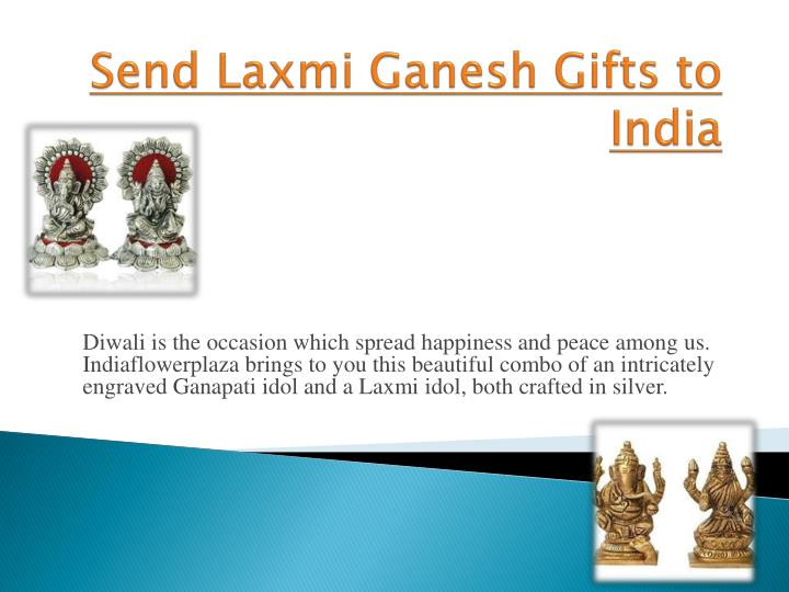 Send laxmi ganesh gifts to india
