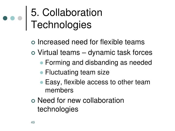 5. Collaboration Technologies