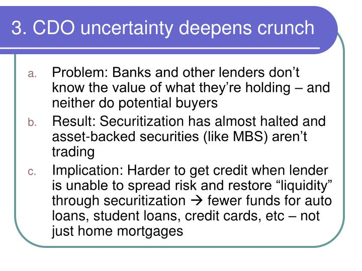 Problem: Banks and other lenders don't know the value of what they're holding – and neither do potential buyers