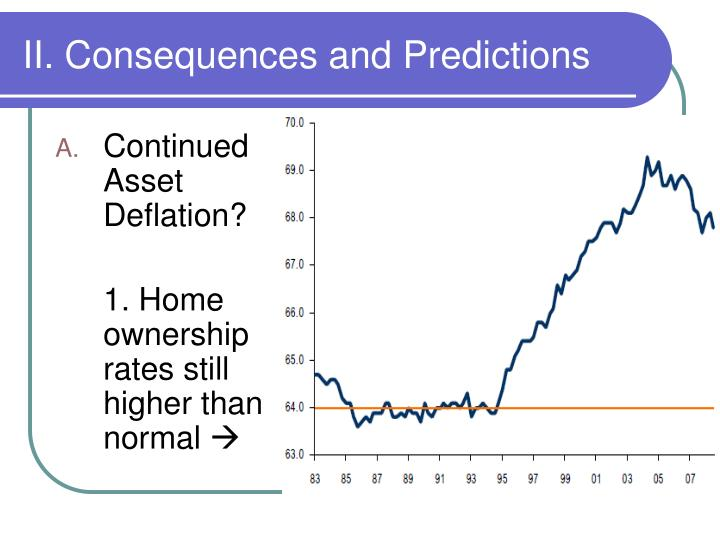 II. Consequences and Predictions