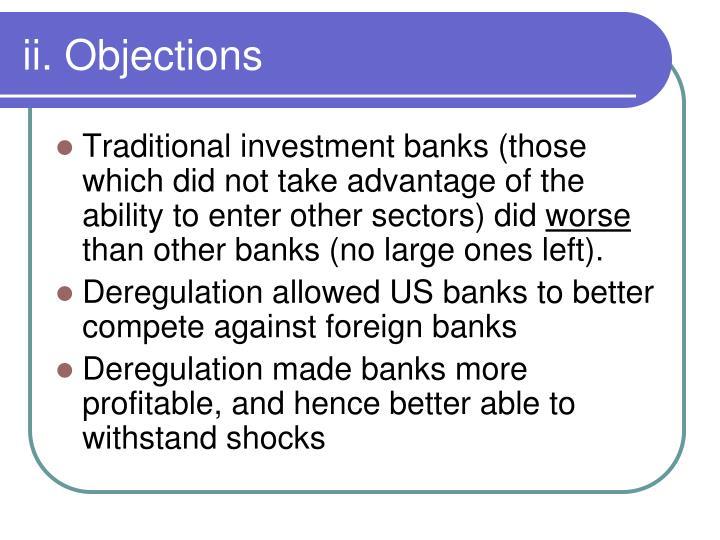 ii. Objections