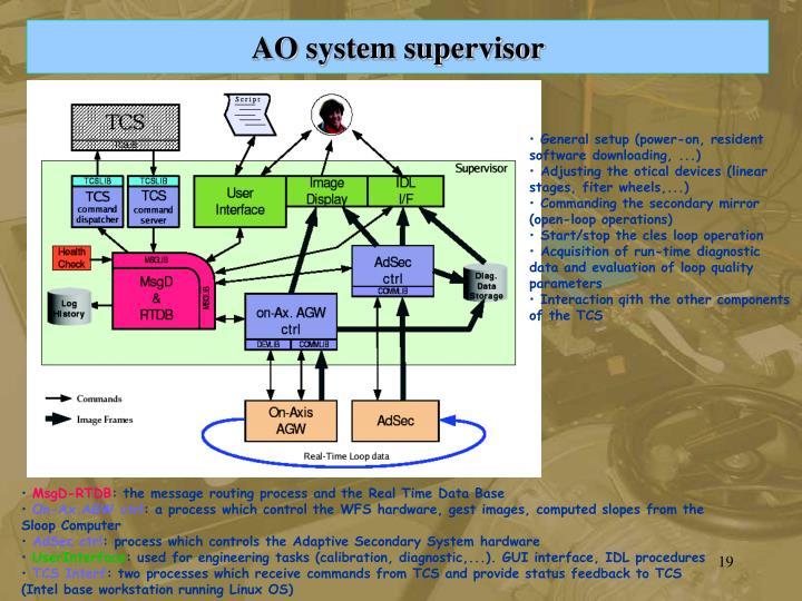 AO system supervisor