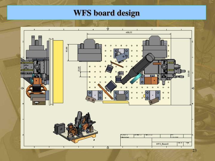 WFS board design