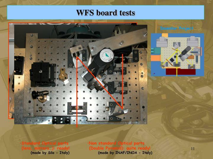 WFS board tests