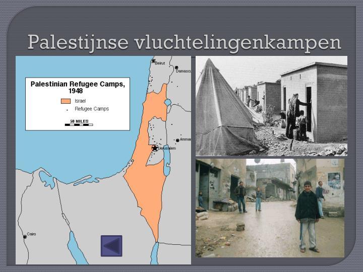 Palestijnse vluchtelingenkampen