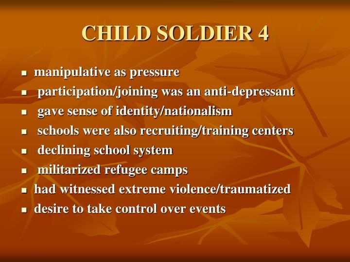 CHILD SOLDIER 4