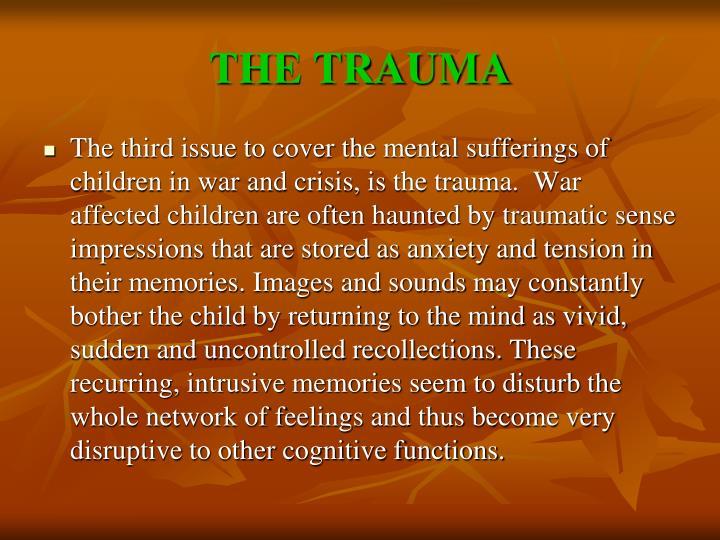 THE TRAUMA