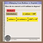 changing from radians to degrees1