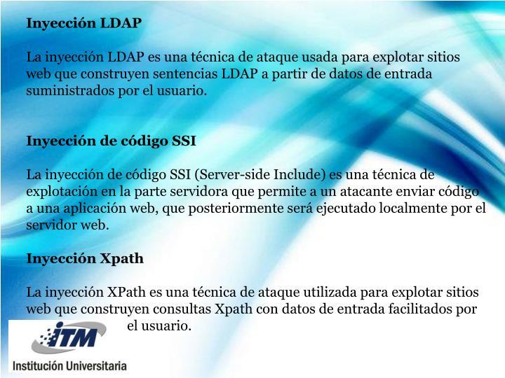 Inyección LDAP