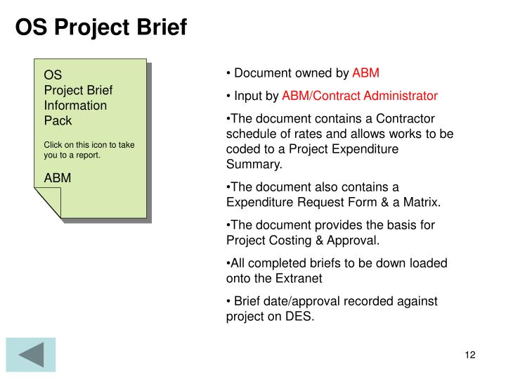 OS Project Brief