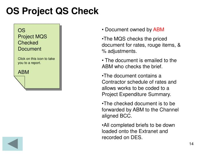 OS Project QS Check