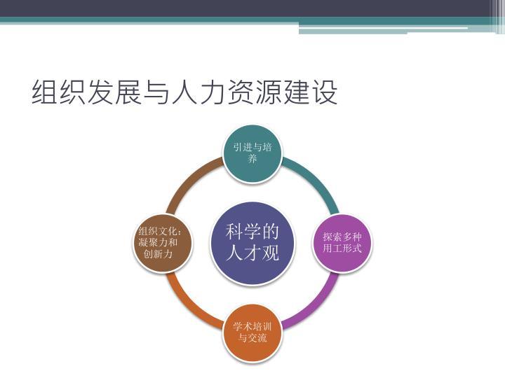 组织发展与人力资源建设
