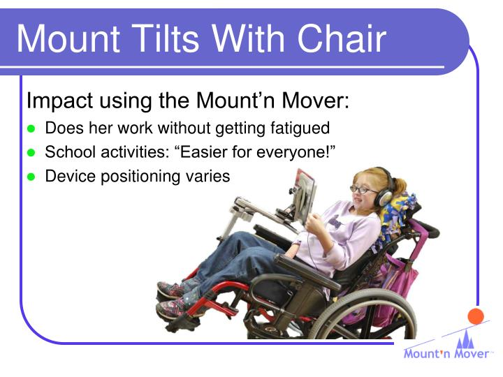 Mount Tilts With Chair