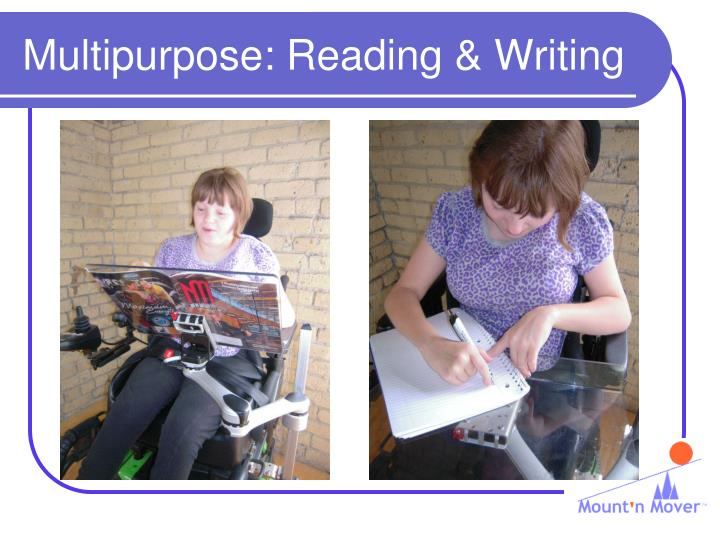 Multipurpose: Reading & Writing