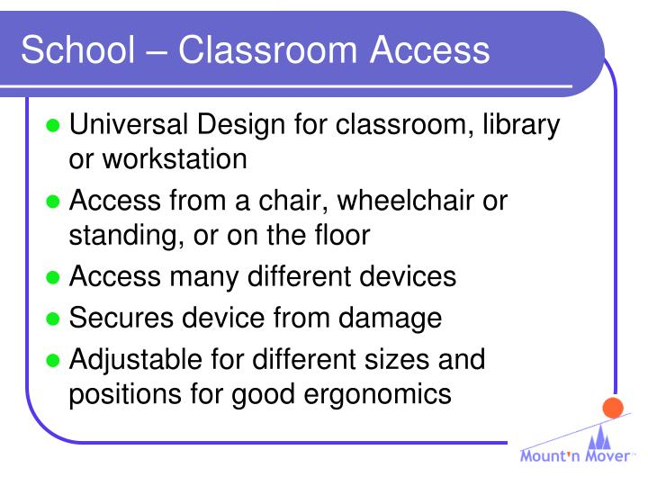 School – Classroom Access