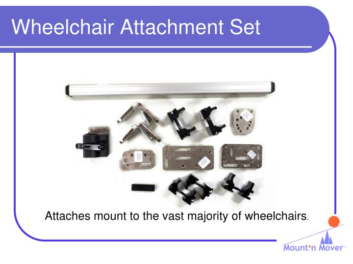 Wheelchair Attachment Set