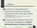 y hume