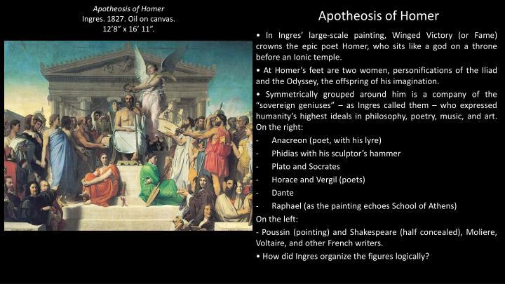 Apotheosis of Homer